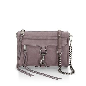 NWT Rebecca Minkoff Nubuck Mini Mac crossbody